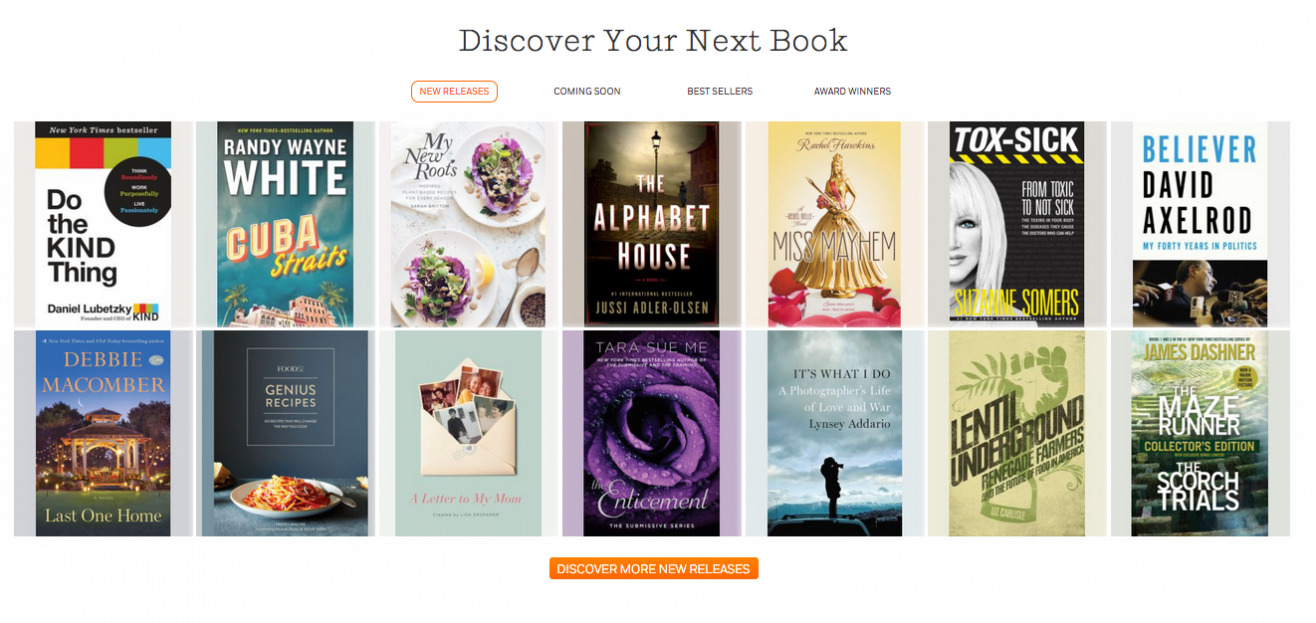 discover your next book