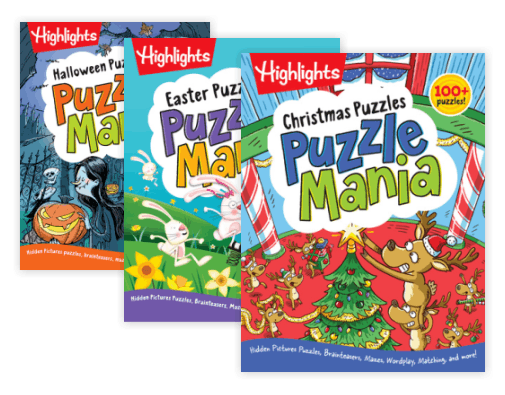 Highlights Photo Puzzle Mania Book