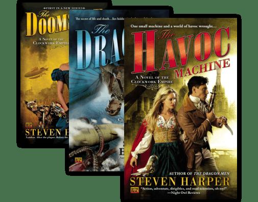 The Dragon Men (Clockwork Empire, Book 3)