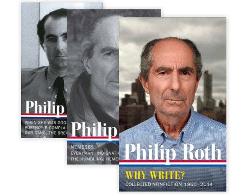 Library Of America Philip Roth Edition