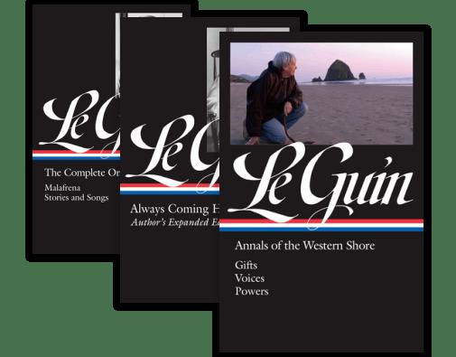 Library of America Ursula K. Le Guin Edition