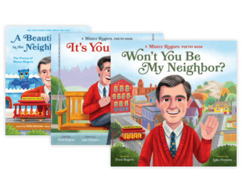 Mister Rogers Poetry Books