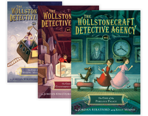 The Case of the Perilous Palace The Wollstonecraft Detective Agency, Book 4