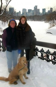 Mom and I at Central Park