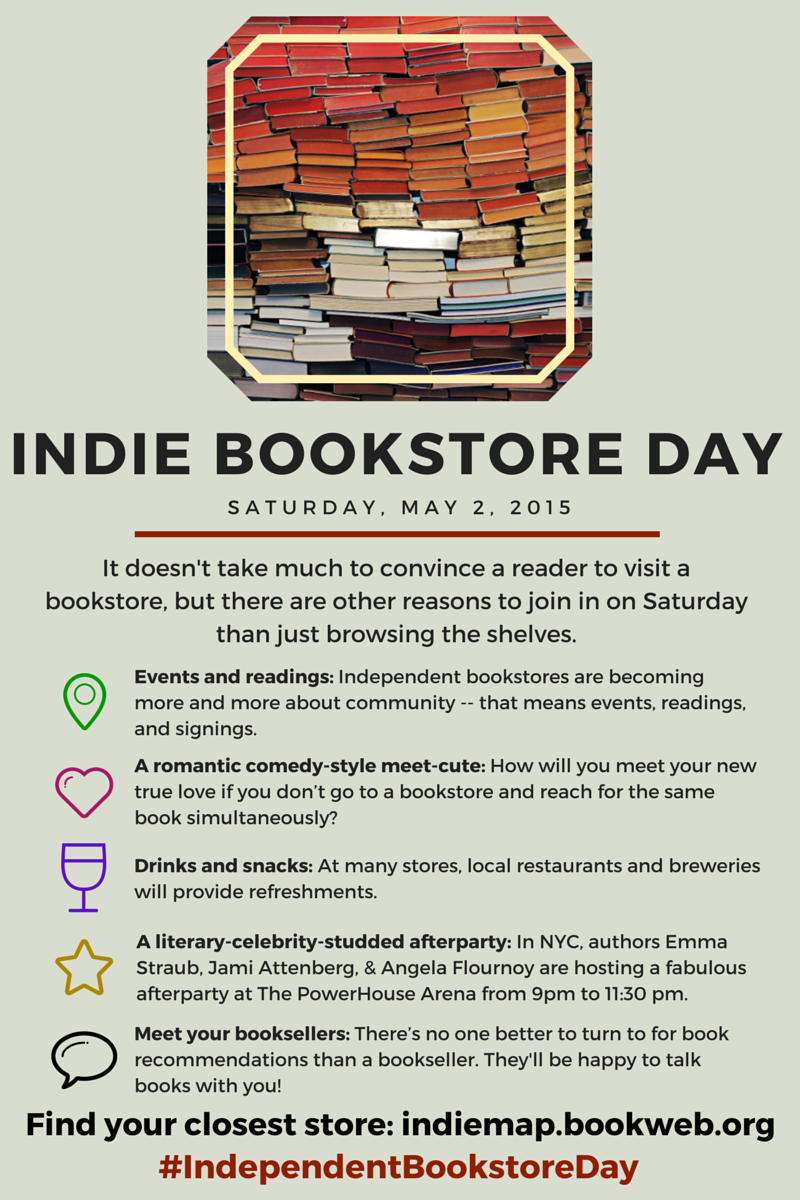 Indie Bookstore Day social