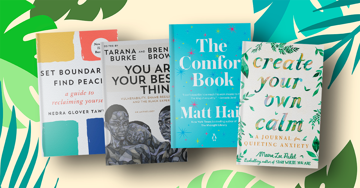 Discover books and memoirs to guide you on the road to self-care.