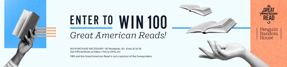 Image result for enter to win 100 great american reads