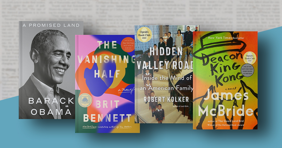 See the books that The New York Times chose as the best of 2020.