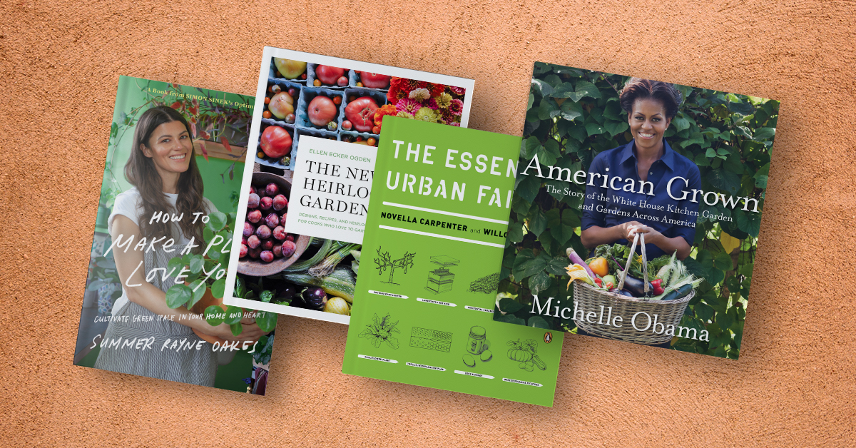 Find books to cultivate your green thumb!