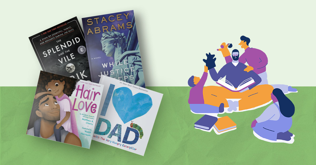 Celebrate the father figures in your life with books perfect for kids and adults!