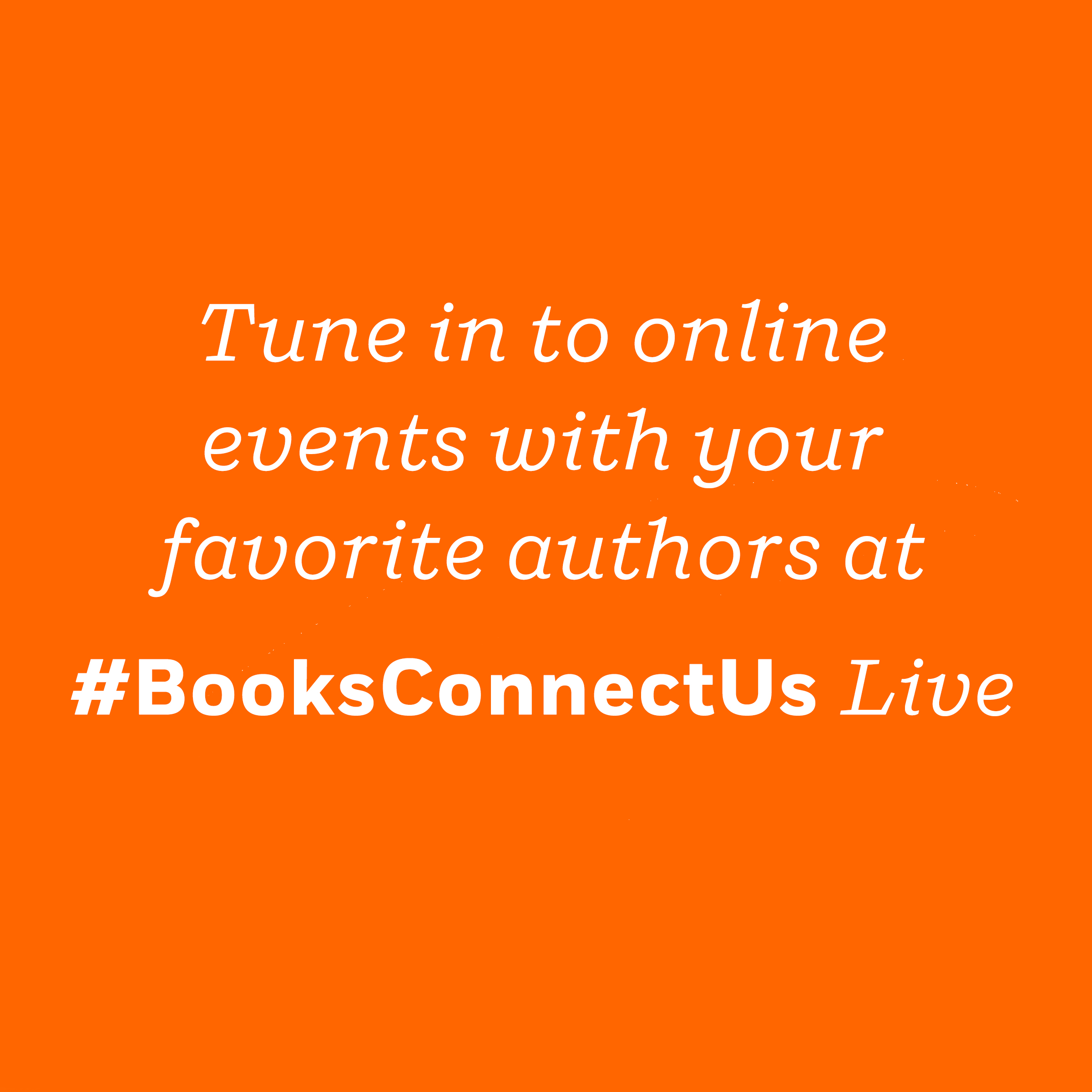 Books Connect Us Live 3/23-3/29
