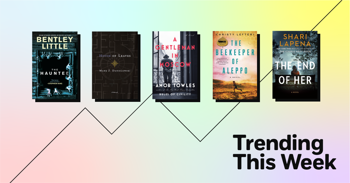 Trending Book Covers