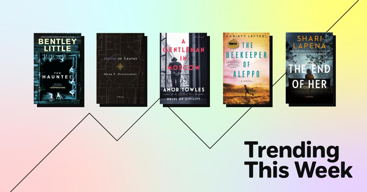 Trending Book Covers