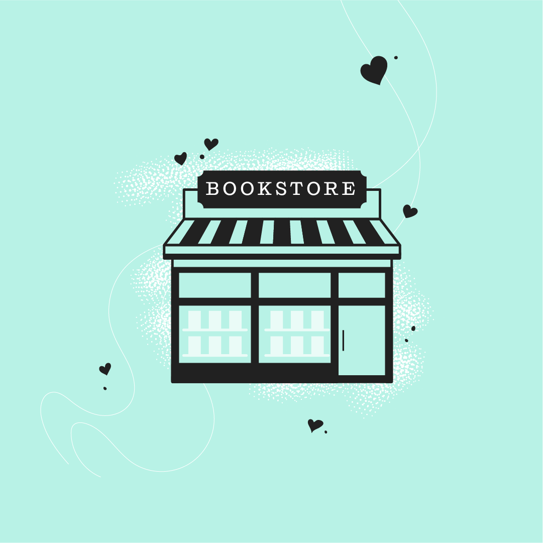Do good, shop small! Support your local indie bookshop