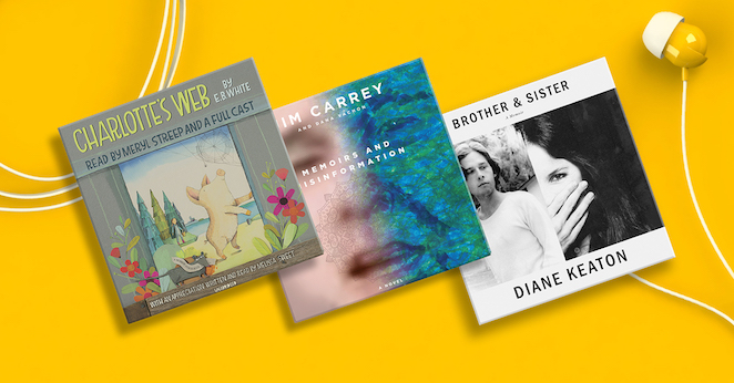 Audiobooks Read By Your Favorite Celebrities