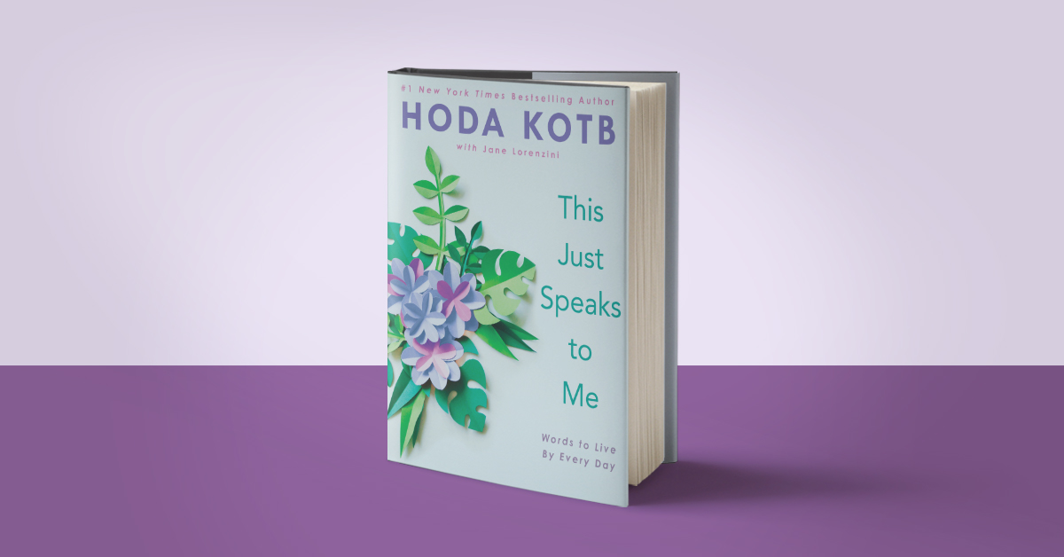 Hoda Kotb Offers Inspiration, Wisdom, and Hope
