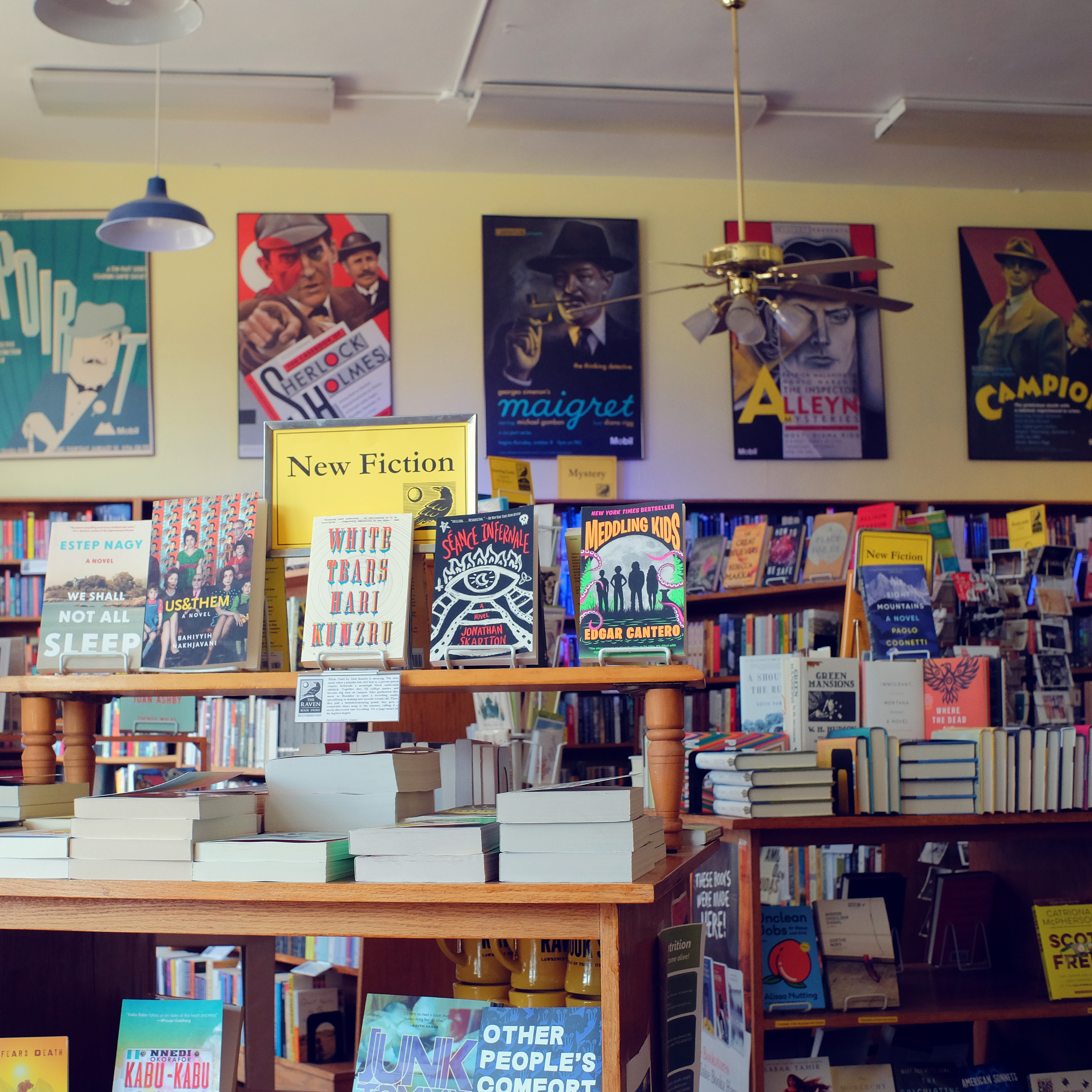 Indie Bookstore Spotlight: Raven Books