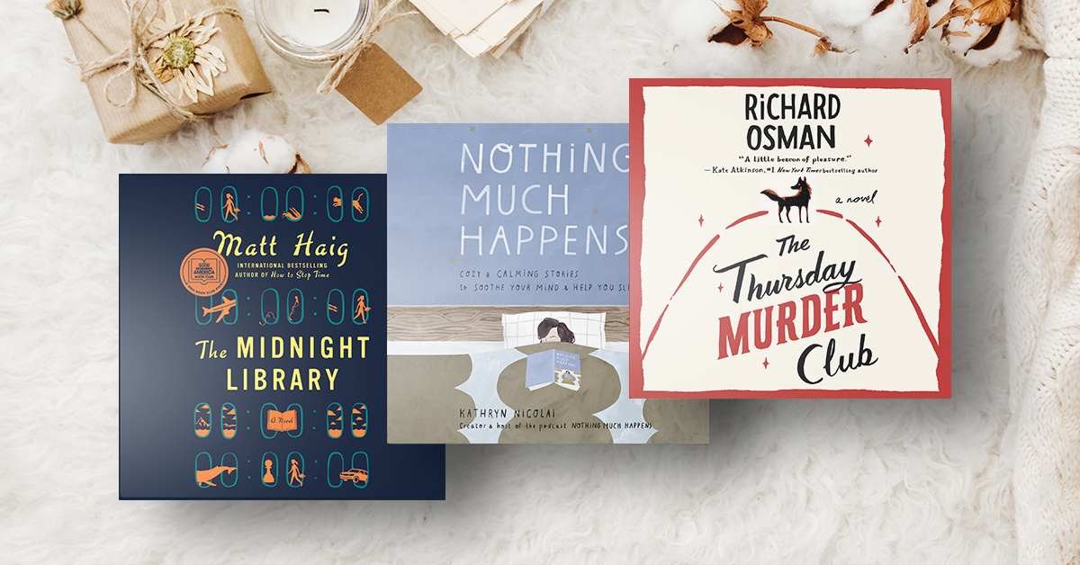 Cozy Audiobooks for the Holidays