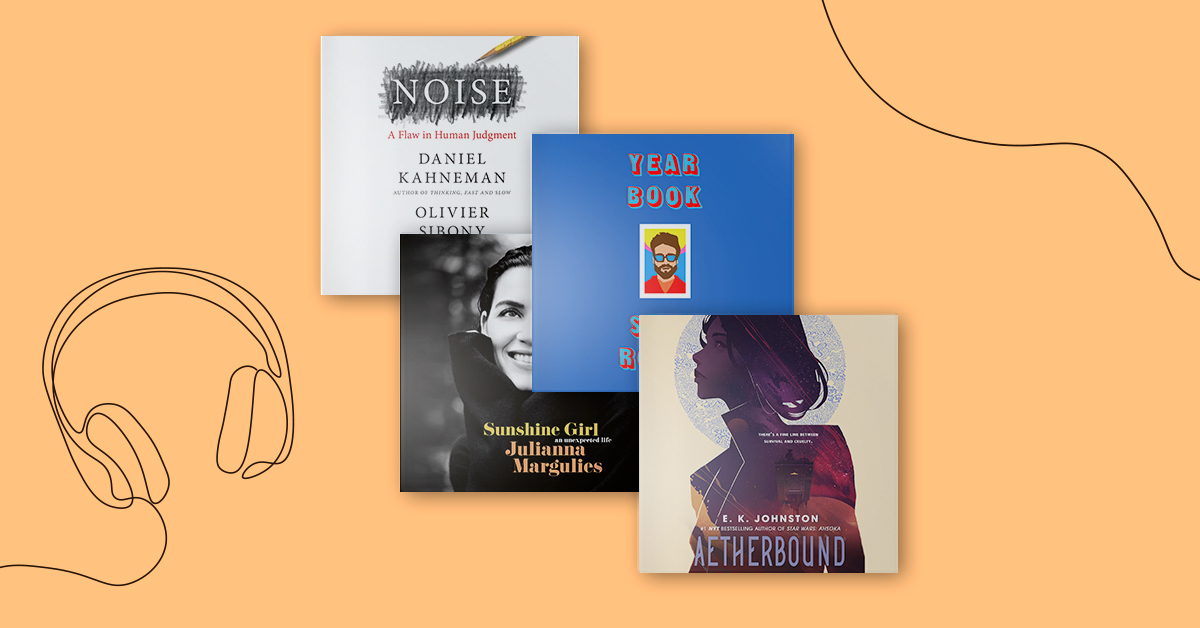 New Audiobooks to Listen to Right Now