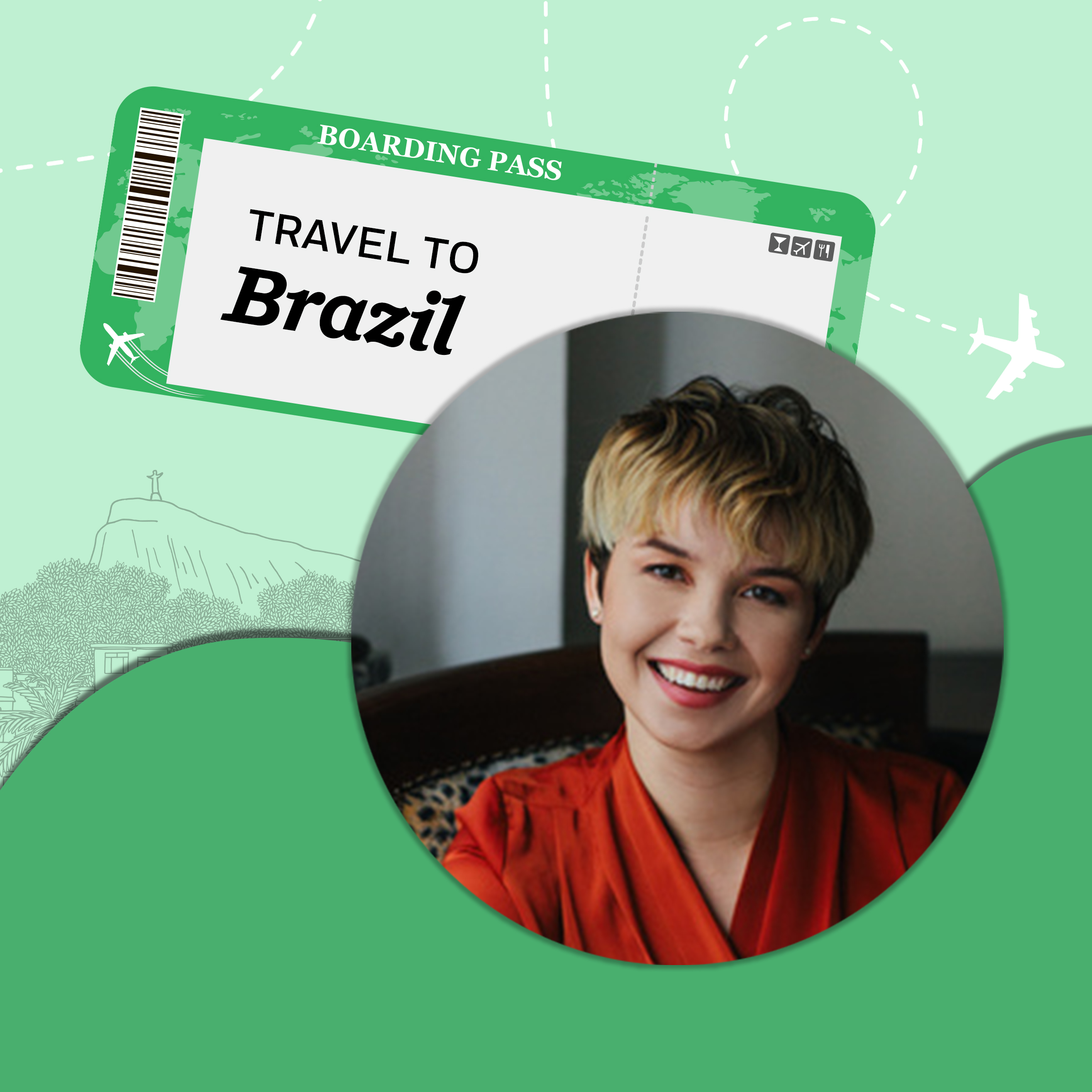 Travel to Brazil with Gabriella Burnham