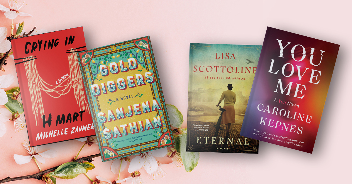 The Biggest Books of April