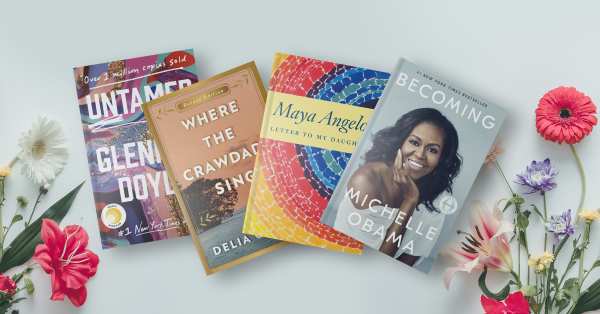 This Mother's Day, share inspiring and heartwarming reads.