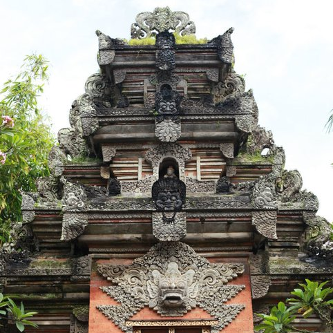 A temple in Bali 1