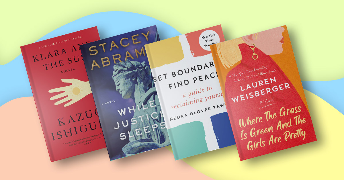 Pick up the books that people can't stop talking about this year (so far)!