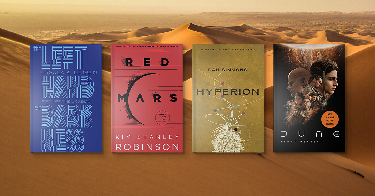Find your next great adventure if you love this sci-fi classic.